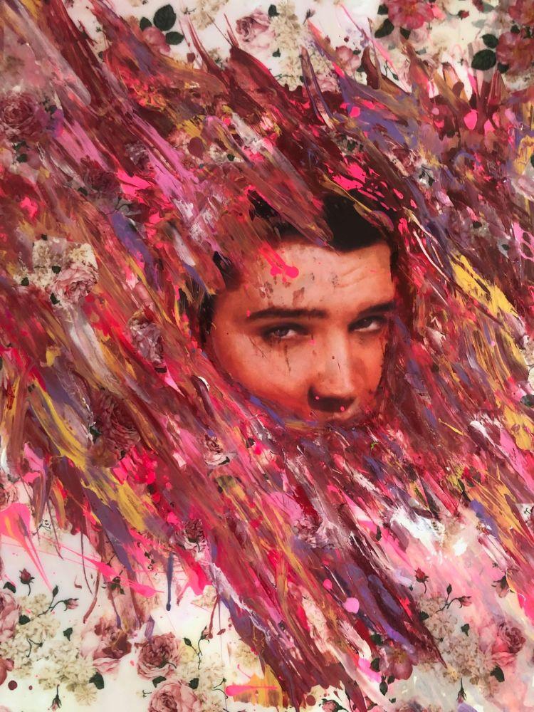 Artist Brent Lashley
